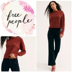 New Free People Hip-Hugging Flare Cord Pants
